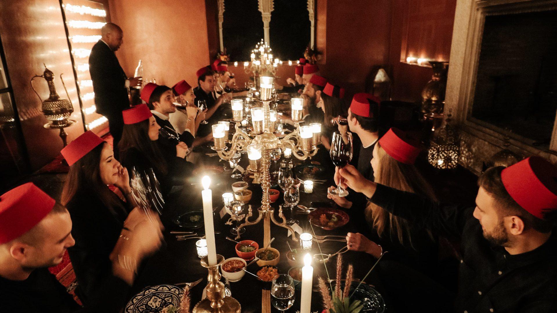 Let's Party Plan Marrakech!