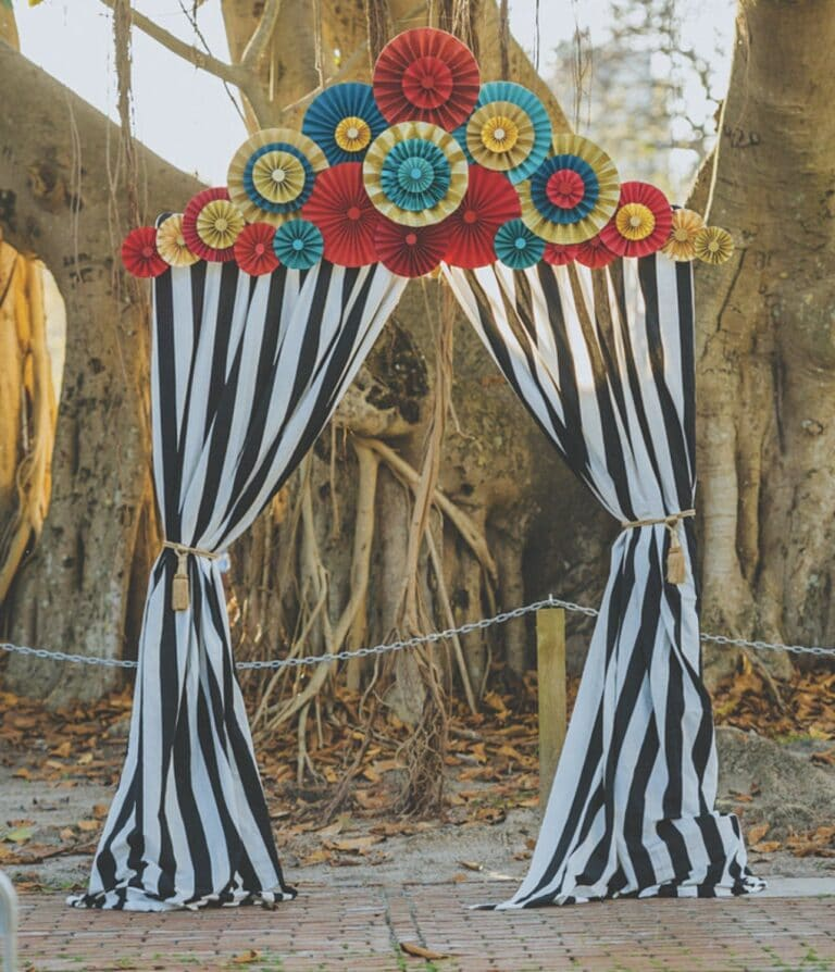 Circus wedding theme
